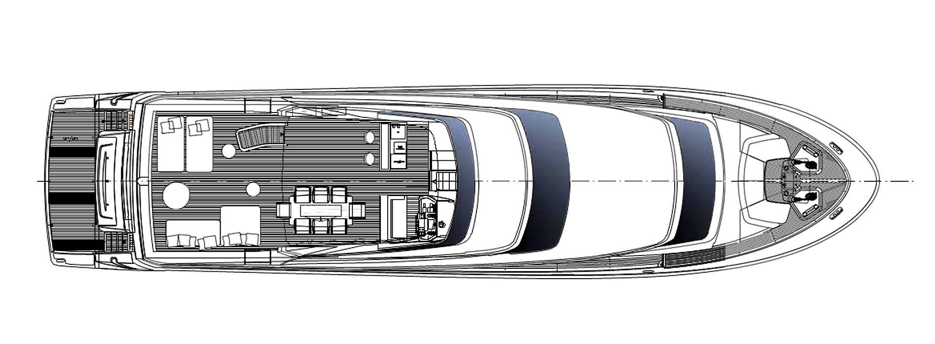 Sanlorenzo Yachts SL96-623 飞桥