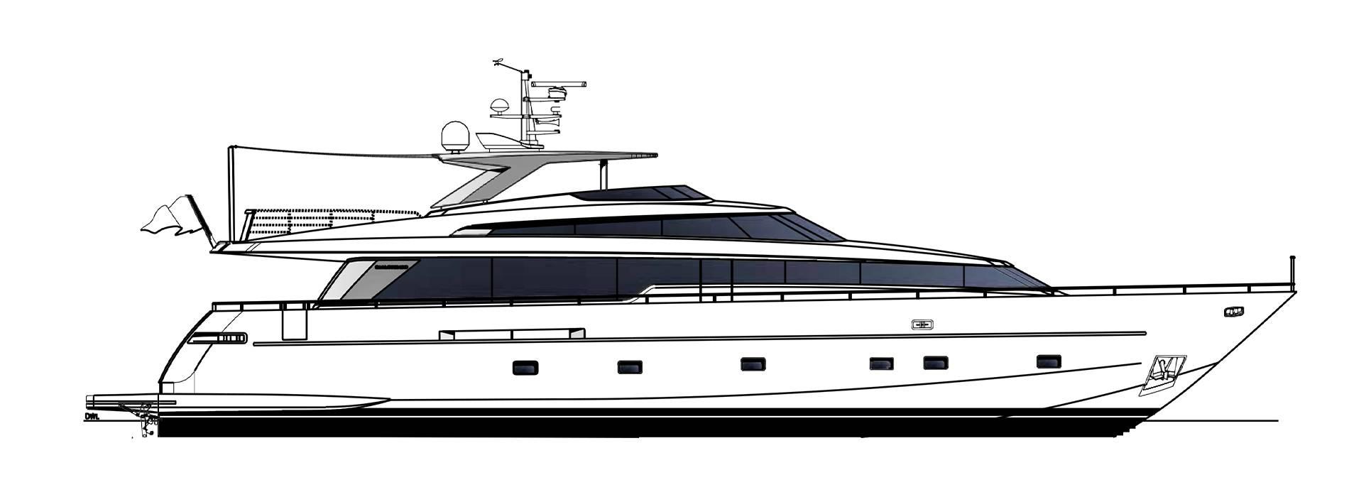 Sanlorenzo Yachts SL96-623 外观