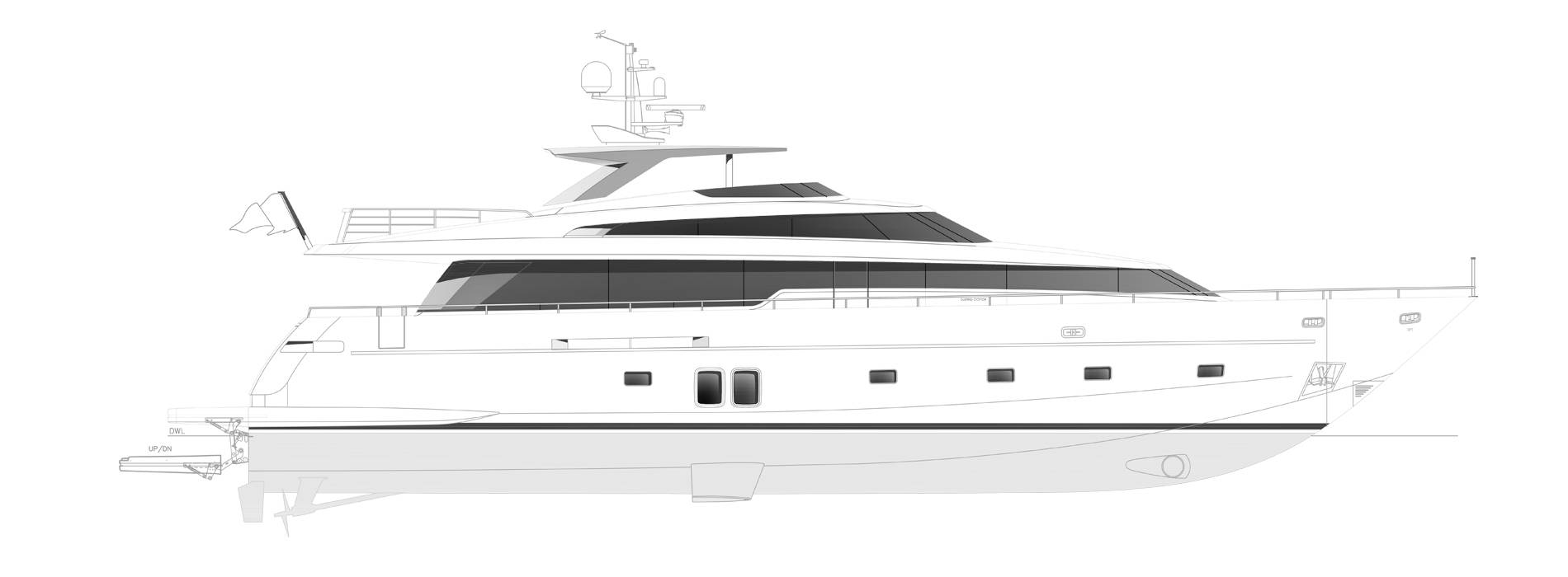 Sanlorenzo Yachts SL96-631 Profile