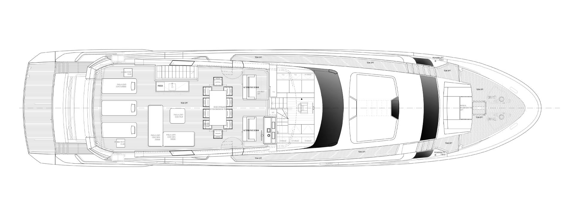 Sanlorenzo Yachts SL102A-746 飞桥