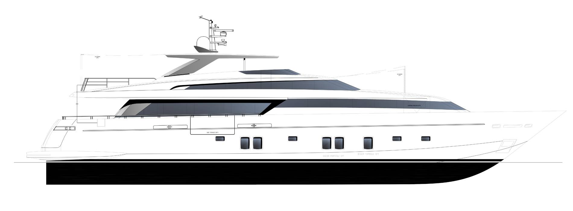Sanlorenzo Yachts SL118-628  外观