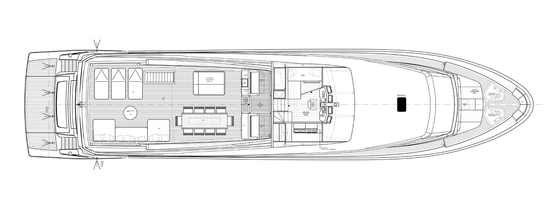 Sanlorenzo Yachts SL106-725 Flying bridge