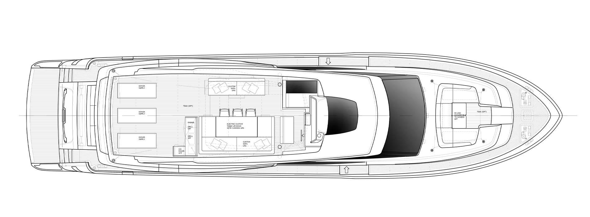 Sanlorenzo Yachts SL86-727 飞桥