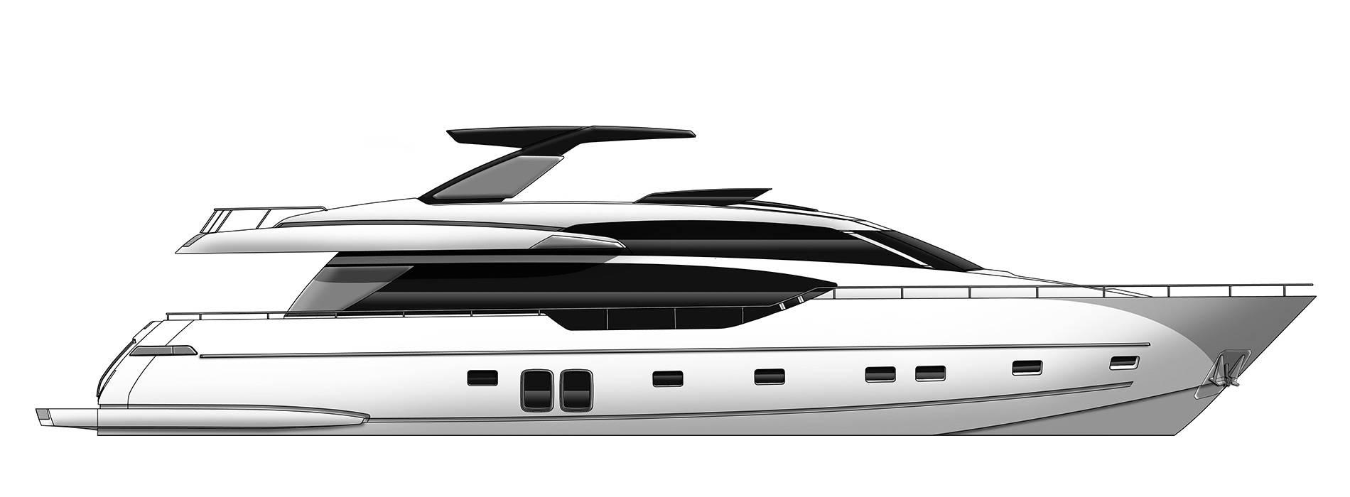 Sanlorenzo Yachts SL86 Profile