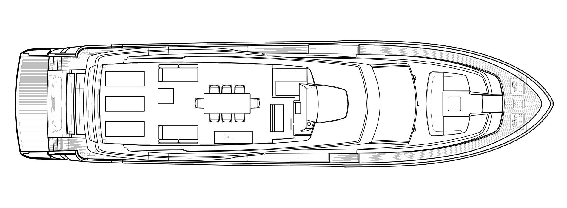 Sanlorenzo Yachts SL86 Flying bridge Version USA