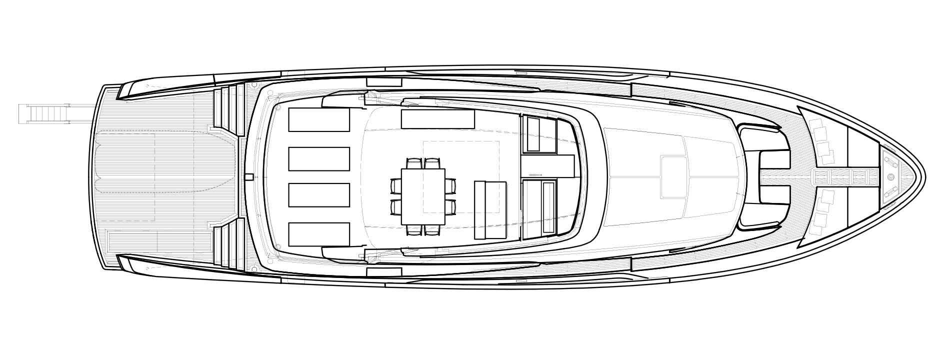 Sanlorenzo Yachts SX88 Flying bridge Version B