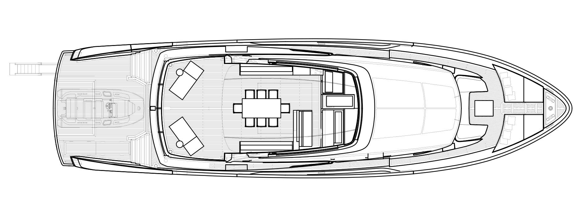 Sanlorenzo Yachts SX88 Flying bridge Version Lissoni