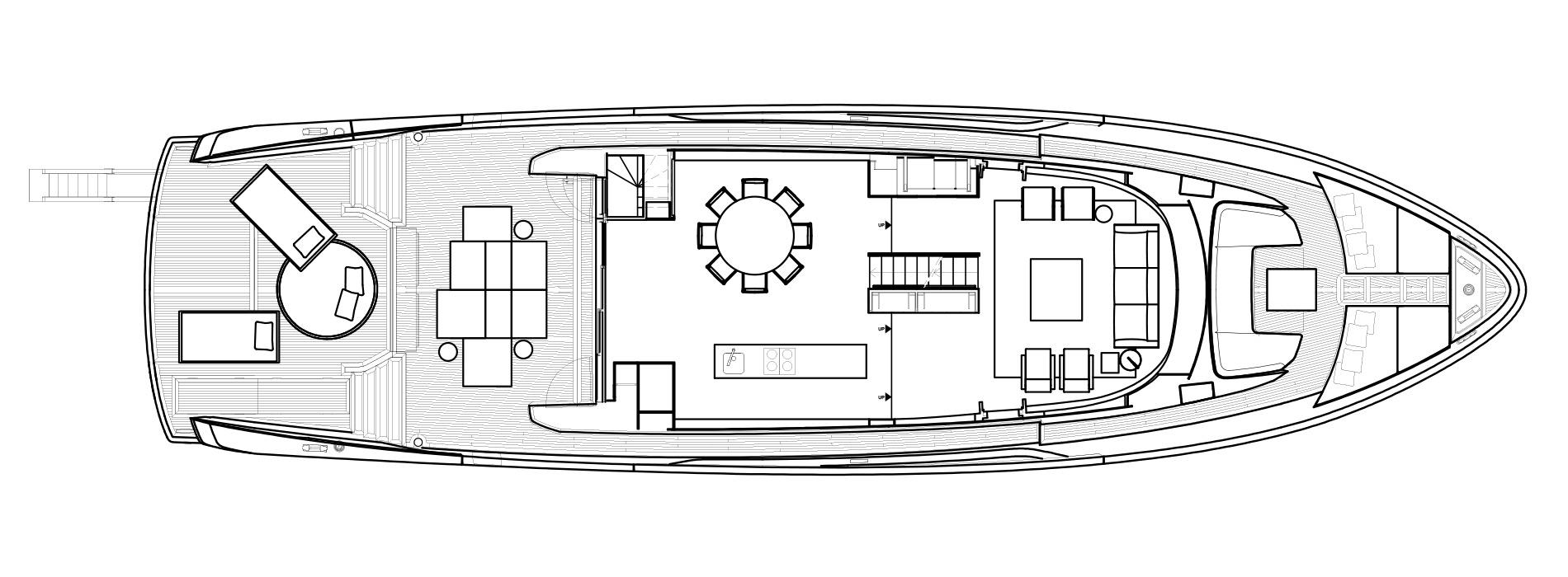 Sanlorenzo Yachts SX88 Main deck Version Lissoni